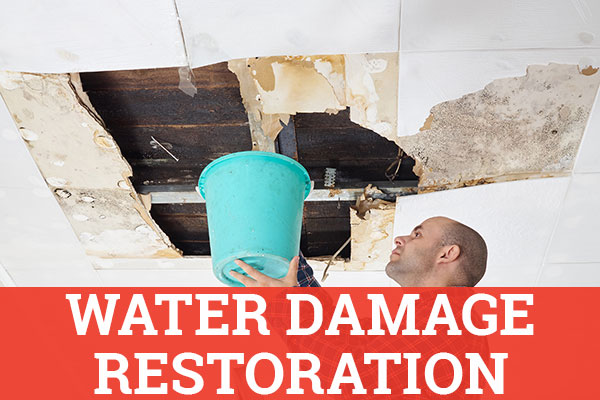 water damage restoration and clean up